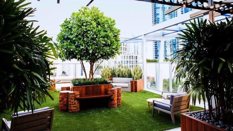 Alfresco Garden Lounge Rooftop @ 1WLO Opens On Las Olas